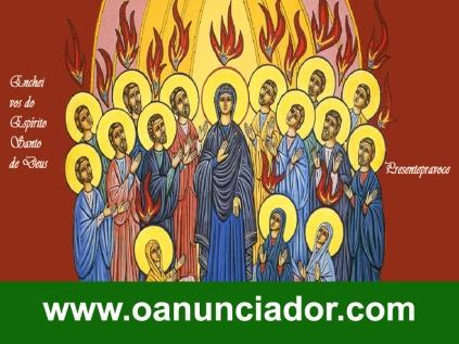 mARIA E IGREJA EM PENTECOSTES