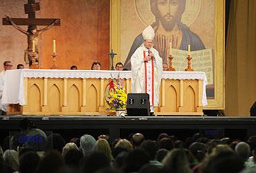 Dom Lélis Lara celebra missa na Canção Nova – leia ou ouça sua homilia