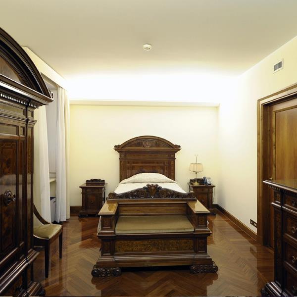 Imagem do quarto onde o Papa vai morar