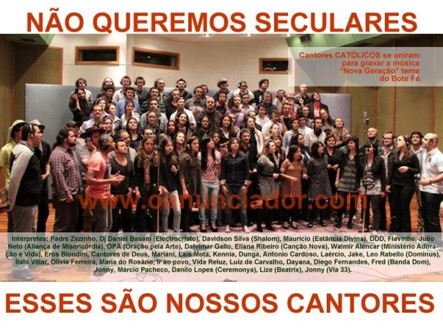 Compartilhe essa imagem nas redes e vamos lutar para que a JMJ seja um evento de evangelização.