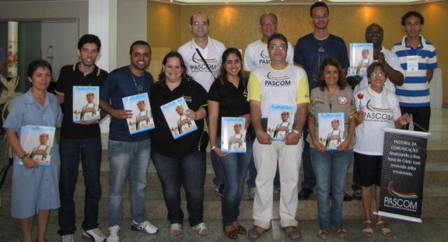 Agentes da Pascom da Diocese de Itabira/Cel. Fabriciano