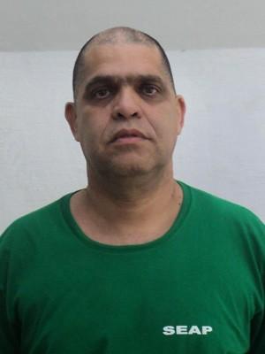 Pastor e foi levado para o Complexo Penitenciário de Bangu (Foto: Seap/Divulgação)