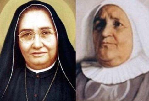Madre Lupita e Madre Laura