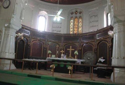 Interior da Igreja de Todos os Santos. Foto: Twitter/@xe_m