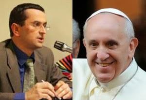 Mario Palmaro e o Papa Francisco