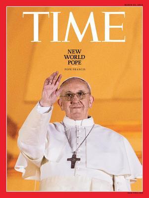 Papa é eleito pela revista o Homem do Ano