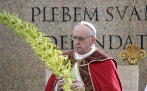 Papa celebra o Domingo de Ramos