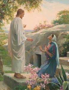 Maria Madalena e Jesus ressuscitado