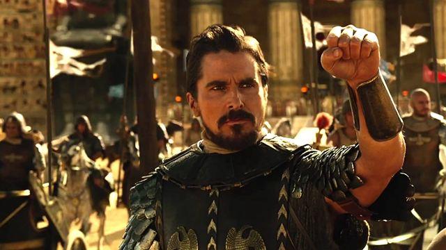 Christian Bale como Moisés