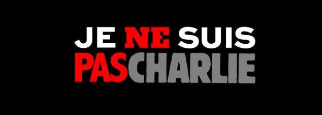 Eu não sou Charlie Hebdo. Eu não sou a favor dos terroristas.