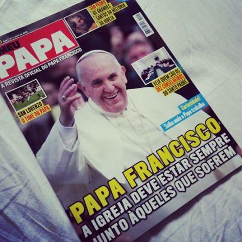 Capa da Revista O Meu Papa