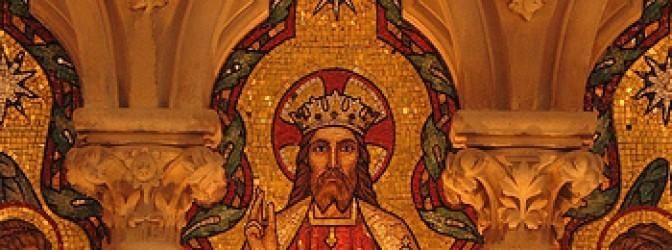 Viva a Cristo Rei do Universo!