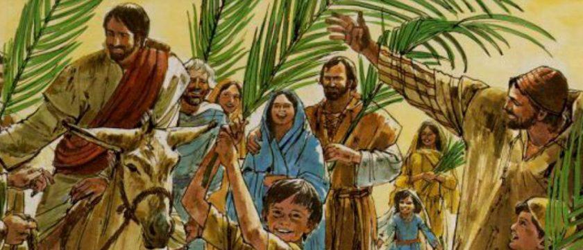 Jesus entrando em Jerusalém